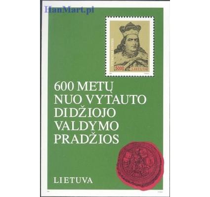 Znaczek Litwa 1993 Mi bl 3 Czyste **