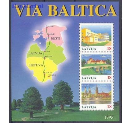 Łotwa 1995 Mi bl 5 Czyste **