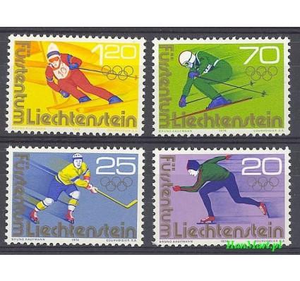 Znaczek Liechtenstein 1975 Mi 635-638 Czyste **