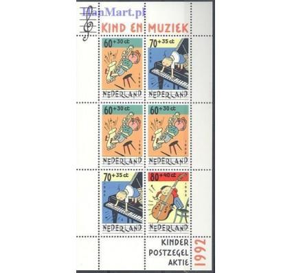 Holandia 1992 Mi bl 37 Czyste **