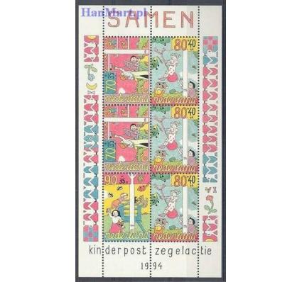 Znaczek Holandia 1994 Mi bl 42 Czyste **