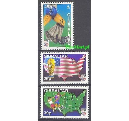 Gibraltar 1994 Mi 687-689 Czyste **