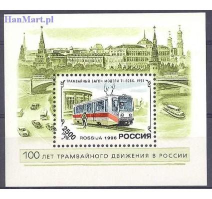 Znaczek Rosja 1996 Mi bl 12 Czyste **