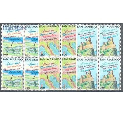 Znaczek San Marino 1990 Mi 1435-1437A Czyste **