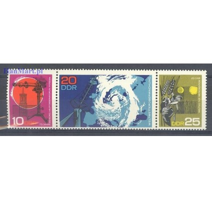 Znaczek NRD / DDR 1968 Mi 1343-1345 Czyste **