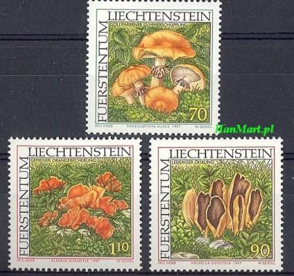 Znaczek Liechtenstein 1997 Mi 1152-1154 Czyste **