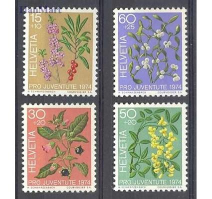 Szwajcaria 1974 Mi 1042-1045 Czyste **