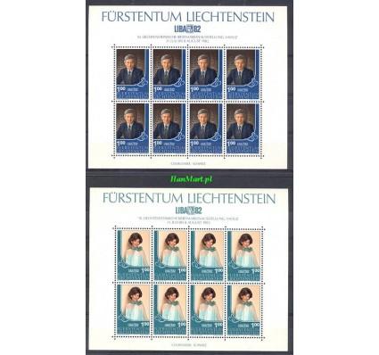 Liechtenstein 1982 Mi ark 797-798 Czyste **
