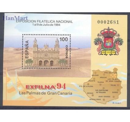 Znaczek Hiszpania 1994 Mi bl 55 Czyste **
