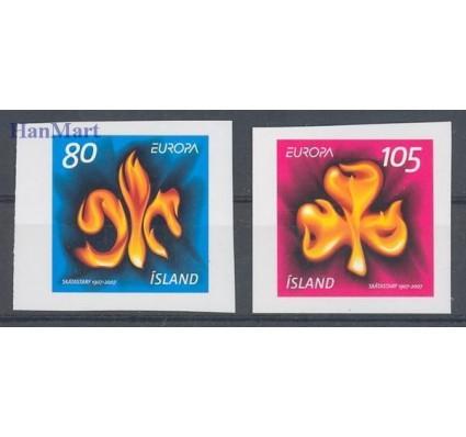 Znaczek Islandia 2007 Mi 1170-1171 Czyste **