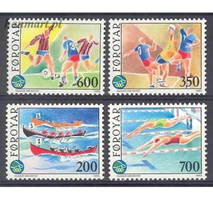Wyspy Owcze 1989 Mi 186-189 Czyste **