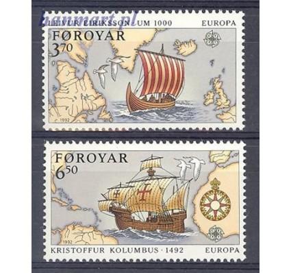 Wyspy Owcze 1992 Mi 231-232 Czyste **