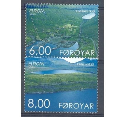 Znaczek Wyspy Owcze 2001 Mi 402-403 Czyste **