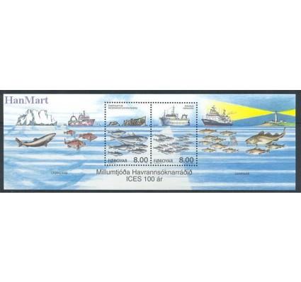 Znaczek Wyspy Owcze 2002 Mi bl 14 Czyste **