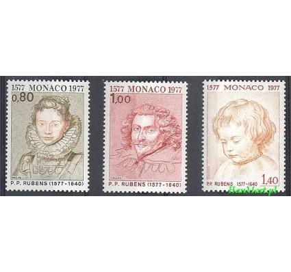Monako 1977 Mi 1270-1272 Czyste **