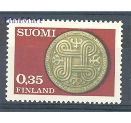 Finlandia 1966 Mi 616 Czyste **