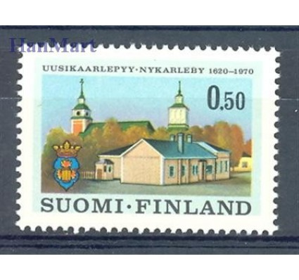Znaczek Finlandia 1970 Mi 679 Czyste **