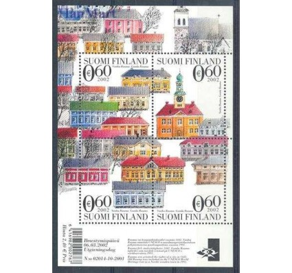 Znaczek Finlandia 2002 Mi bl 29 Czyste **