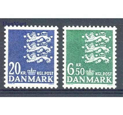 Znaczek Dania 1986 Mi 853-854 Czyste **