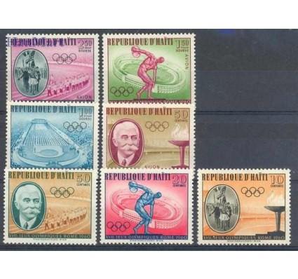 Haiti 1960 Mi 629-635 Czyste **