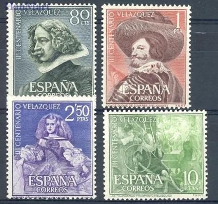 Hiszpania 1961 Mi 1235-1238 Czyste **