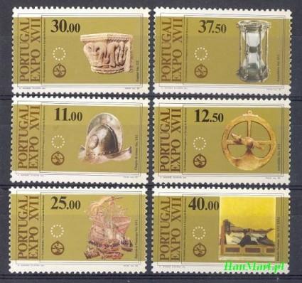 Portugalia 1983 Mi 1595-1600 Czyste **