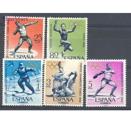 Znaczek Hiszpania 1964 Mi 1506-1510 Czyste **