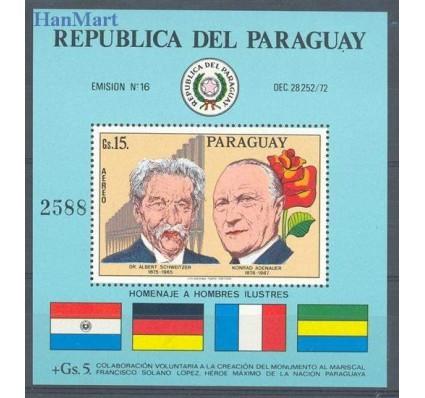 Paragwaj 1975 Mi bl 265 Czyste **