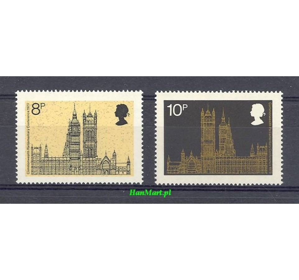 Wielka Brytania 1973 Mi 632-633 Czyste **