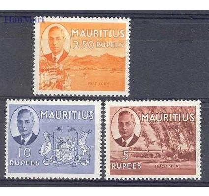 Znaczek Mauritius 1952 Mi 239-241 Czyste **