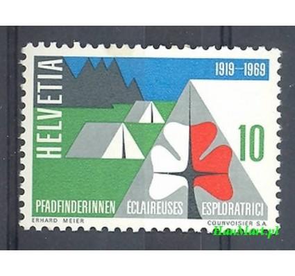 Znaczek Szwajcaria 1958 Mi 895 Czyste **