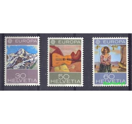 Znaczek Szwajcaria 1975 Mi 1050-1052 Czyste **