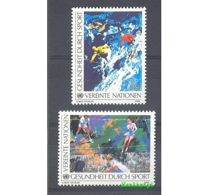 Znaczek Narody Zjednoczone Wiedeń 1988 Mi 85-86 Czyste **