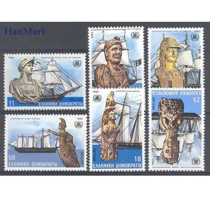 Znaczek Grecja 1983 Mi 1505-1510 Czyste **