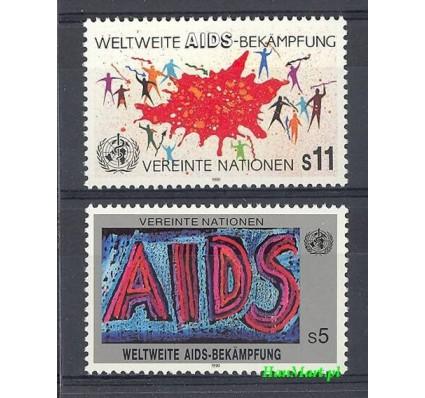 Narody Zjednoczone Wiedeń 1990 Mi 100-101 Czyste **