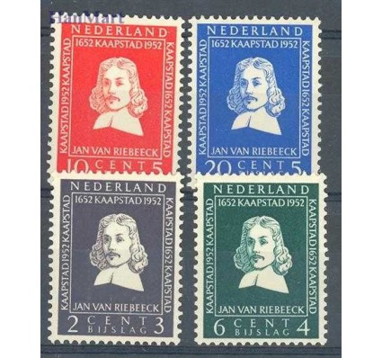 Znaczek Holandia 1952 Mi 583-586 Czyste **
