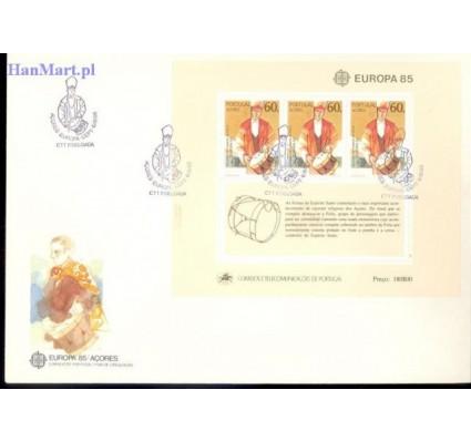 Azory 1985 Mi bl 6 FDC