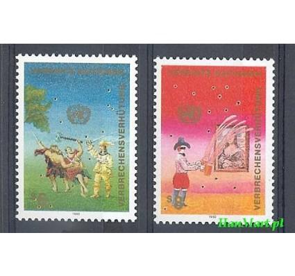 Narody Zjednoczone Wiedeń 1990 Mi 106-107 Czyste **