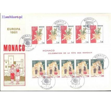 Monako 1981 Mi bl 17 FDC