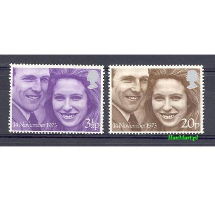 Znaczek Wielka Brytania 1973 Mi 637-638 Czyste **