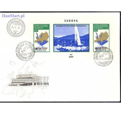 Znaczek Węgry 1974 Mi bl 103 FDC
