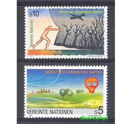 Znaczek Narody Zjednoczone Wiedeń 1991 Mi 119-120 Czyste **