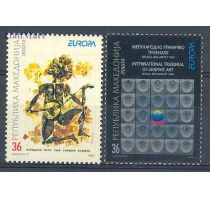 Macedonia 2003 Mi 279-280 Czyste **