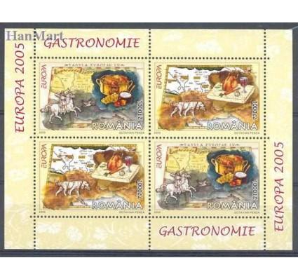Znaczek Rumunia 2005 Mi bl 355I Czyste **