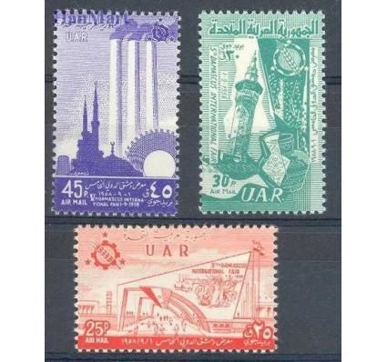 Znaczek Syria 1958 Mi 9-11 Czyste **