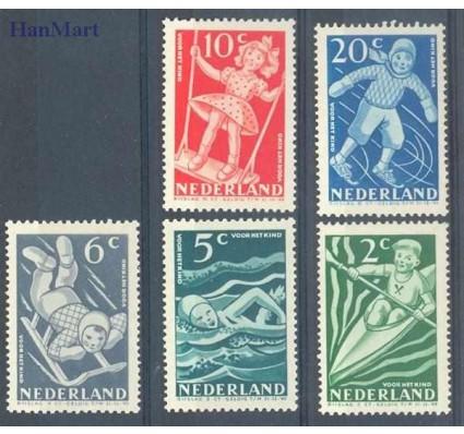 Znaczek Holandia 1948 Mi 511-515 Czyste **