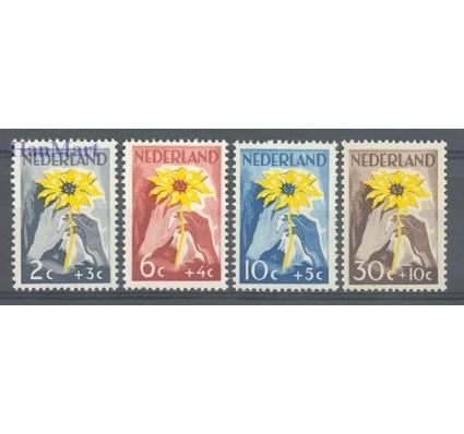 Znaczek Holandia 1949 Mi 521-524 Czyste **