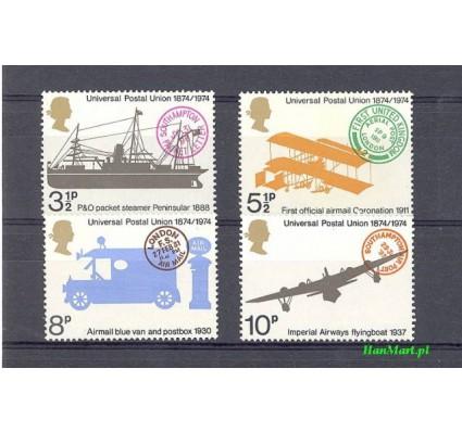 Znaczek Wielka Brytania 1974 Mi 650-653 Czyste **