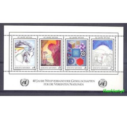 Narody Zjednoczone Wiedeń 1986 Mi bl 3 Czyste **