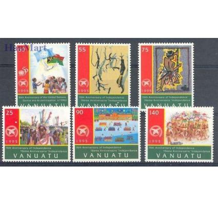 Znaczek Vanuatu 1995 Mi 985-990 Czyste **